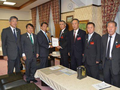 平成30年9月21日 日本海沿岸東北自動車道整備のための要望 国土交通省