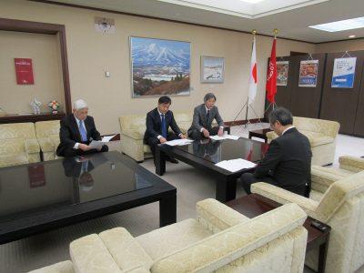 令和元年12月27日 知事に令和2年度県予算要望を行いました!